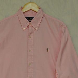 Ralph Lauren Button Down Custom Fit 16.5